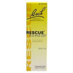 Bach Original Rescue Remedy in Caso di Stress, Ansia e Panico