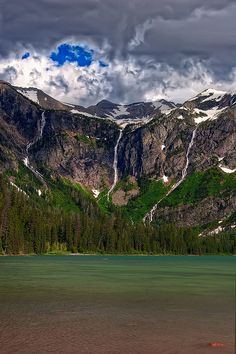 Avalanche Lake - hiked to this with our kiddos.. and then again with the entire Crowley family in 2008.. beautiful