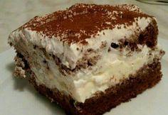 cook's illustrated Tiramisu - well worth the bones Trifle Desserts, Cookie Desserts, Chocolate Desserts, Dessert Recipes, Chocolate Cake, Small Desserts, Summer Desserts, Just Desserts, Delicious Desserts