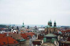View from the Clementinum, Prague, Czech Republic