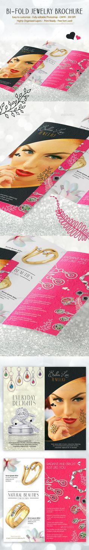 Bi-Fold Jewelry Brochure Template Download: http://graphicriver.net/item/bifold-jewelry-brochure-template/11268796?ref=ksioks