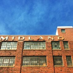 Midland Sash & Door Inc. ghost sign in Indianapolis