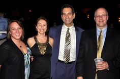 Suzanne, Pam, Alex and Steve at the 2011 Broderson Awards, Portland, Maine.
