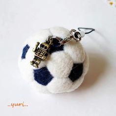 羊毛フェルト/サッカーボール