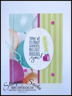 Stampin' Sacha | Stampin' Up! | Occasions/SAB 2018 | Tutti-Frutti Cards & Envelopes | Picture Perfect Birthday | Birthday