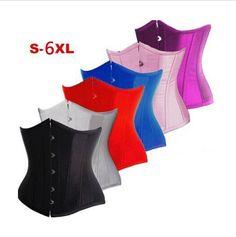 Bustier Corset Waist Cincher Belt Body Shaper Underbust Girdle Control Tummy 832