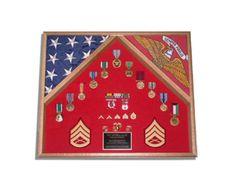 Marine Corps Retirement Gift, Marine Corps Flag Cases