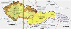 Desmembración de Checoeslovaquia antes de la II G. M.