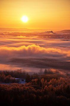 北海道、夕日/Hokkaido