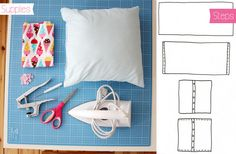 lu loves handmade: 5 things to do with KAMSnaps - DIY: Pillow case.