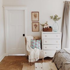 Nursery chair - cozy mother's nook