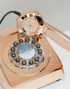 Image 2 ofWild & Wolf Rose Gold Telephone