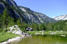 Seewiese Altaussee Homeland, Austria, Europe, Earth, River, Mountains, Outdoor, Hunting, Outdoors