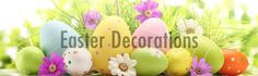 The new #Easter season is coming soon.  Create glorious Easter decoration with CelebrateIt great #decoration ideas and accessories.