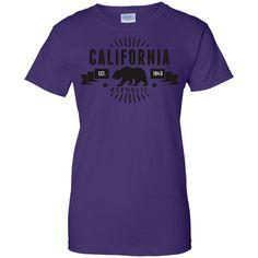 CA Republic (BLK) Ladies Custom 100% Cotton T-Shirt