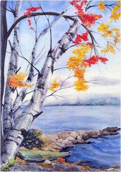 Green Boat, Lake Champlain, VT, giclee fine art reproduction, matted and framed $350.00.  http://www.janemayjones.com
