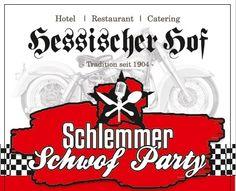 Party am Samstag, den 16. Juli 2016 Mit: Stefan Marquard / Michael Riedl / Kochbox / Cockroaches / Project PQ / SMASH Einlass ab 17.30 Uhr, Start ab 18.00 Uhr http://www.hotel-hessischer-hof.com/schlemmer-schwof-party/