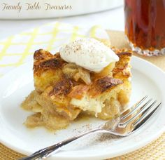Overnight Bananas Foster French Toast Casserole - Family Table Treasures
