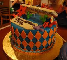 Monorail cake.