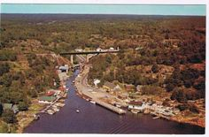 Ontario, Postcards For Sale, Aerial View, Fresh Water, Canada, Boat, World, The World, Dinghy