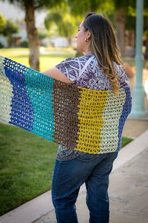 Juliaetta Shawl by Debbie Richardson This is an exclusive pattern in the April 2017 Pattern Pack Pro.