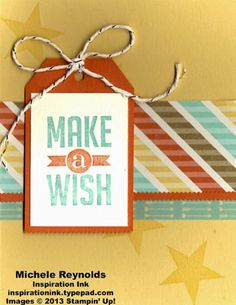Perfect Pennants Star Fall Wishes by Michelerey - Cards and Paper Crafts at Splitcoaststampers
