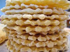 Lemon-Vanilla Pizzelles, Take 1   The Spiced Life Lemon Pizzelle Recipe, Pizelle Recipe, Pizzelle Cookies, Jam Recipes, Italian Recipes, Snack Recipes, Dessert Recipes, Desserts, Recipes