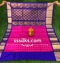 Indian Handloom Sarees and Silks Kuppadam Pattu Sarees, Handloom Saree, Pure Silk Sarees, Different Patterns, Chanel Boy Bag, Contrast, Weaving, Colours, Shoulder Bag