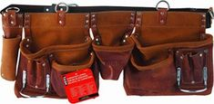 7. Task Tools T77265 Carpenter's Apron Leather Tool Belt, Saddle Leather, Leather Tooling, Leather Bags, Leather Anniversary Gift, Anniversary Gifts For Him, Carpenter Tool Bags, Electrician Tool Belt, Best Tool Belt