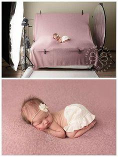 SALE Large Newborn Rectangle Beanbag Poser ( poser only )