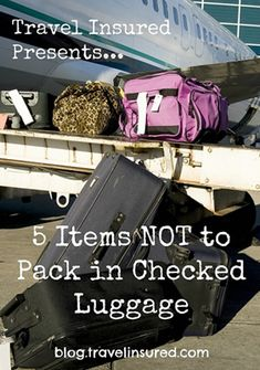 5 Items That Should Always Be Packed in Your Carry On Luggage :: 1) electronics, 2) important documents, 3) medication, 4) money, and 5) valuables (like jewelry)