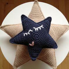 FREE Star Amigurumi Crochet Pattern and Tutorial by Hvadbiertaenker
