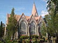 Alahärmän kirkko, Finland