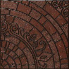 Piso piedra indie tierra 45x45 casa interiores pisos for Mosaicos para patios precios