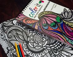 Free your creativity with the hottest premium #coloringbook of the season. #doodle