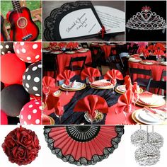 Flamenco Sweet Fifteen Theme #quinceanera