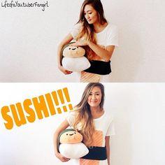 https://flic.kr/p/pD8m2j   SUSHI SUSHI SUSHI NOST CREATIVE AND YUMMY COSTUME EVER LAUREN!!! ❤️ @laurdiy {#laurdiy #diy #diys #sushi #food #foods #eating #eat #edible #sushis #japanese #plush #doll #white #sashimi #orange #black #seaweed #edit #myedit #fangirl #youtube #youtuber #yo   on.fb.me/1xR3ynQ