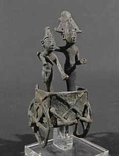 Warrior God in Chariot Phoenicia 6th-5th c. BC