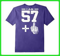 Mens Legends Born In 1959 Birthday Gift For 58 Years Old I Am 2XL Purple - Birthday shirts (*Amazon Partner-Link)
