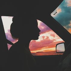 Summer drives. I want to paint this too.