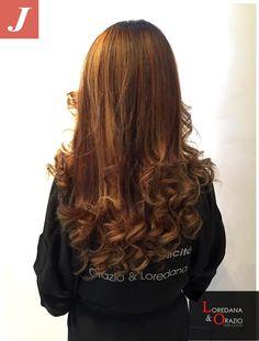 #cdj #crazydegrade #degrade #welovedegrade #hairstylist #joelledegrade #redhair #igers #overtourjoelle2015 #LoredanaeOrazio #soloJoelle