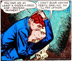 How did those comic book writers know our daily conversation when I get home from work?
