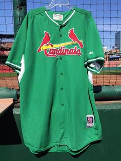 d80010049 2015 team-issued St. Patrick s Day jerseys now up for bid in the Cardinals