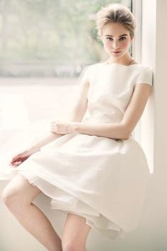 So natural and gorgeous Light Peach, Lighter, Burberry, Peplum Dress, Fragrance, White Dress, Peplum Outfit, Perfume
