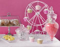 A Sweet Soiree - Entertaining Essentials with Candy Charm (cupcake carousel!)