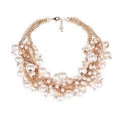 #collana con perle for #Unconventional #Woman www.viaromabijoux.net