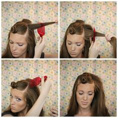 Hey guys! Emily here again to show you the step-by-step  basics of teasing your hair! A lot of people are too intimidated to tease their hai...