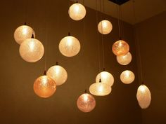 Glass blowing lighting Art