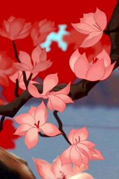 Blossoms from Mulan