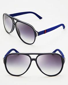 15f443e79bb56 Gucci Aviator Sunglasses EDITORIAL - Women s New Arrivals - Jewelry    Accessories - Bloomingdale s. Oculos De SolSunniesAviaçãoAcessórios ...